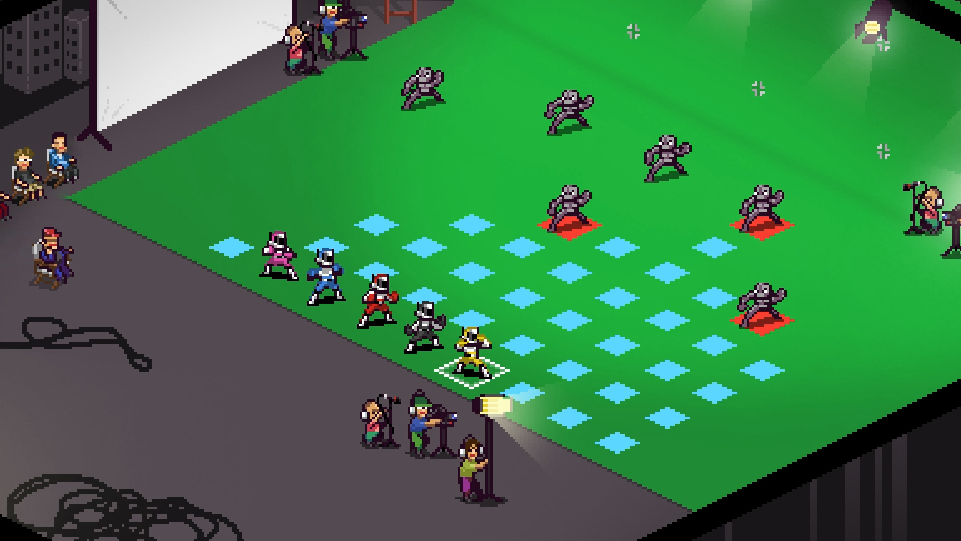 Art Show Ideas Chroma Squad Sentai Tactical Rpg
